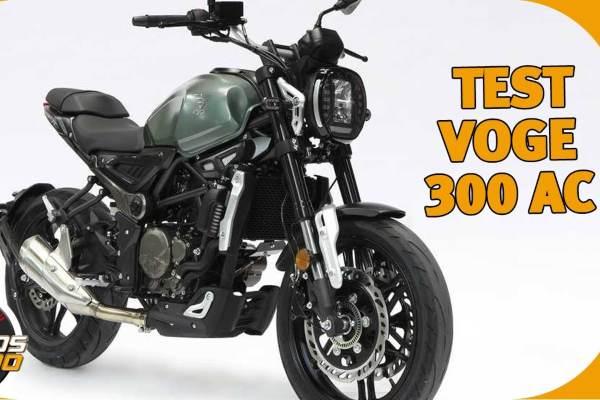 Prueba VOGE 300AC Motosx100